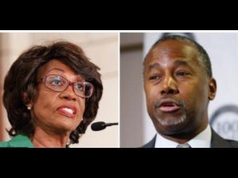 "BEN CARSON RESPONDS TO MAXINE WATERS' CLAIMS SHE WILL ""TAKE HIM APART""!"