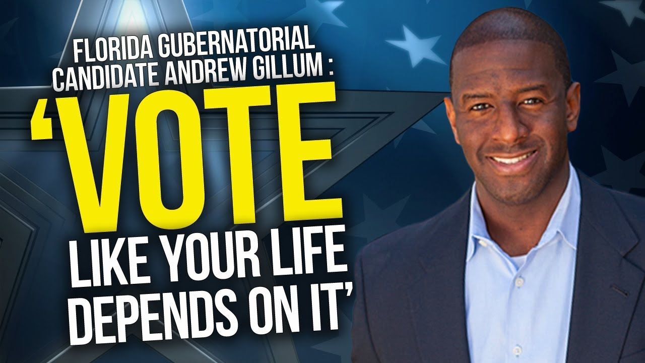 Andrew Gillum: 'I voted for me'