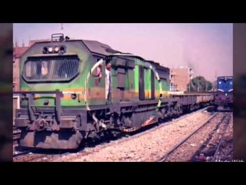 الجرار ( ادترانز الغول Adtranz Freight ) فيلم سكك حديد مصر