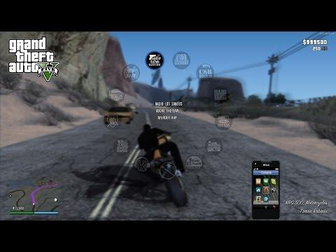 "Худ из GTA 5 для GTA San Andreas / GTA V HUD V0.925 ""Next-Gen Edition"" + [Установка]"
