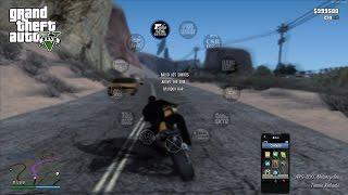 Скачать Худ из GTA 5 для GTA San Andreas GTA V HUD V0 925 Next Gen Edition Установка