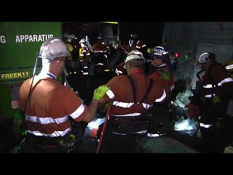 Level 1 Emergency 2017 - Broadmeadow Coal Mine