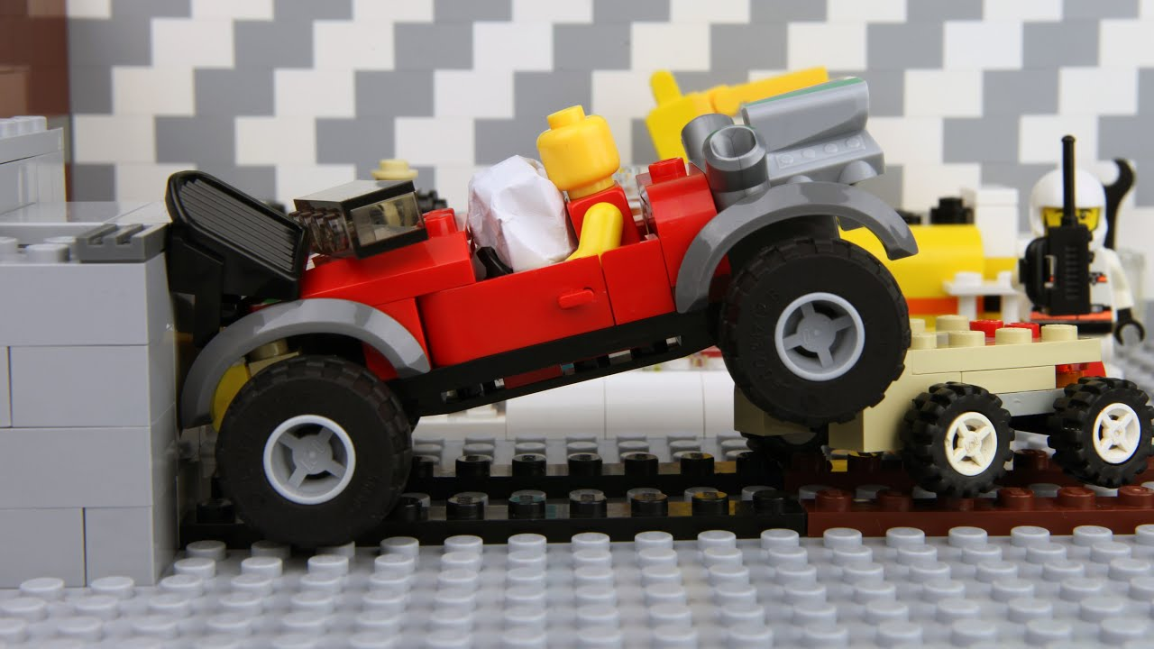 Lego Car Crash Test