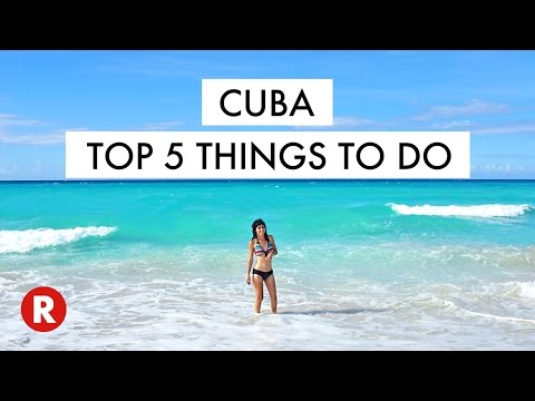 Top 5 Things To Do In Cuba // Don't Miss These Spots! // Cuba Travel Tips 2017