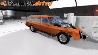 BeamNG Drive CRASH TEST COMMERCIAL
