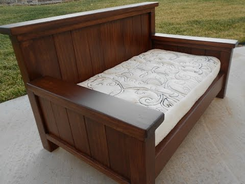 Twin Daybed Frames wood twin daybed frame - youtube