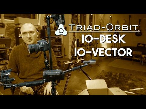 Triad Orbit - IO Desk and IO Vector