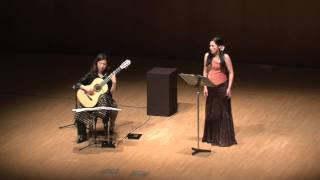 Soledad Cardoso & Kaori Muraji - El paño moruno (Manuel de Falla)