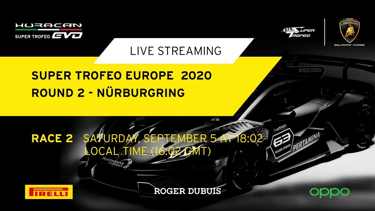 Lamborghini Super Trofeo Europe 2020 - Nürburgring, Race 2