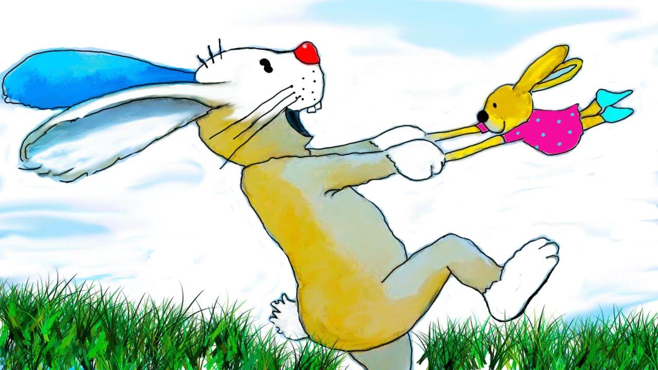 Der Hase Mit Der Roten Nase Geschichten Fur Kleine Kinder Bilderbuchfilm Stories And Tales Youtube