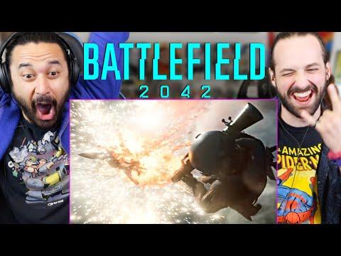BATTLEFIELD 2042 Official Reveal Trailer - REACTION!!