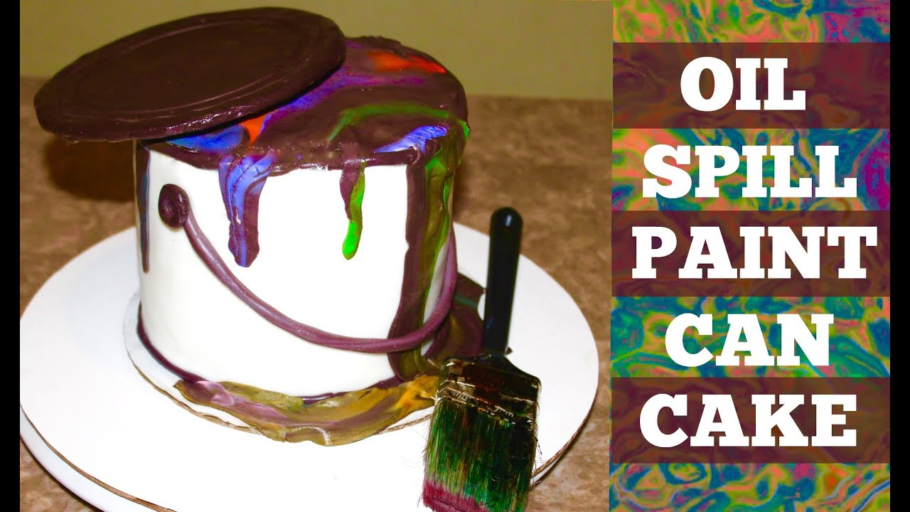 Paint Can Cake