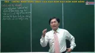 Giải tích 11 - Đạo hàm - Chứng minh đẳng thức đạo hàm - Đạo hàm hàm hằng