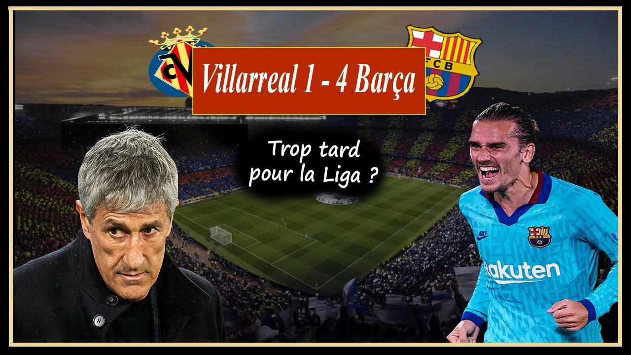 Le Meilleur match du Barça sous l'ère Quique Setién ! Villarreal 1 - 4 Barça. GRIEZMANN Incroyable