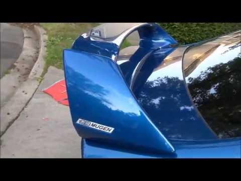 Oem Mugen Wing Install | 2011 Honda Civic Si