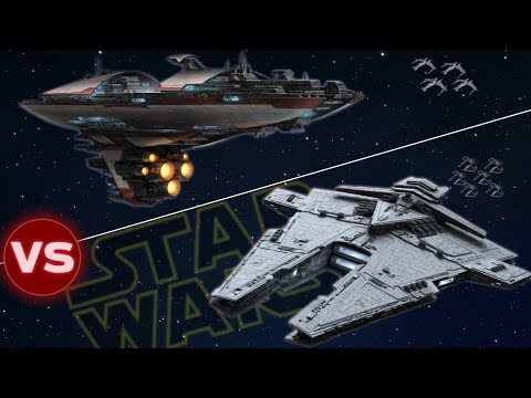 Harrower Class Dreadnought vs Valor Class Cruiser | Star Wars: Who Would Win