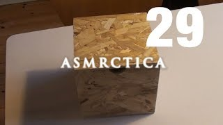 ASMR Mysterious Box & Microphone Stand - Tapping, Scratching, Show & Tell
