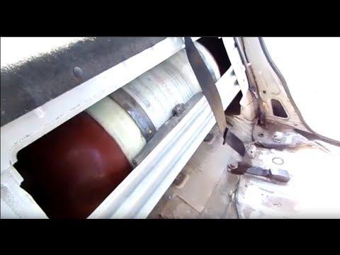 Как открыть багажник Рено Логан если установлено ГБО Метан | Renault LOGAN