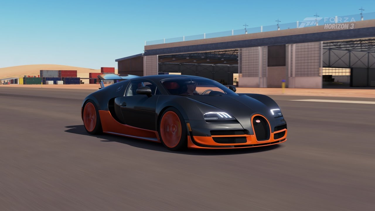 forza horizon 3 bugatti veyron super sport top speed youtube. Black Bedroom Furniture Sets. Home Design Ideas