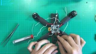 #4 - Cómo montar un drone de carreras paso a paso - Controladora de vuelo