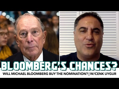 Will Michael Bloomberg Buy The Nomination? | w/Cenk Uygur