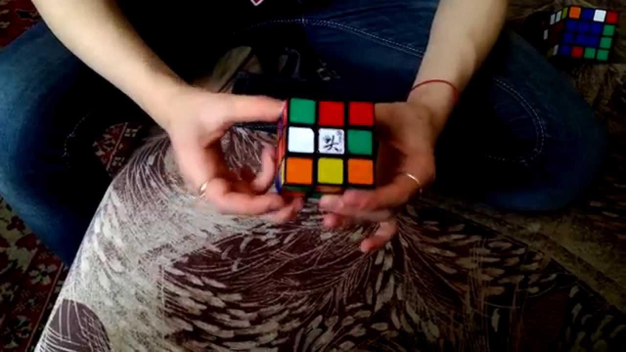 старая схема сборки кубика-рубика