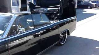1964 Black Lincoln Continental ...Drop the top!
