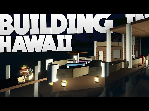Unturned: Building in Hawaii | Boat House | Part 2 (Hawaii Map)