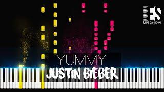 Yummy - justin bieber (piano tutorial) | eliab sandoval