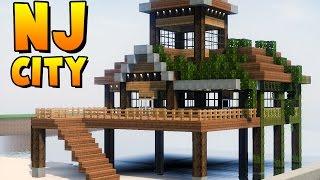 ✔ Minecraft Cidade Moderna - SUPER RESTAURANTE RÚSTICO NA PRAIA ‹ MANYA ›