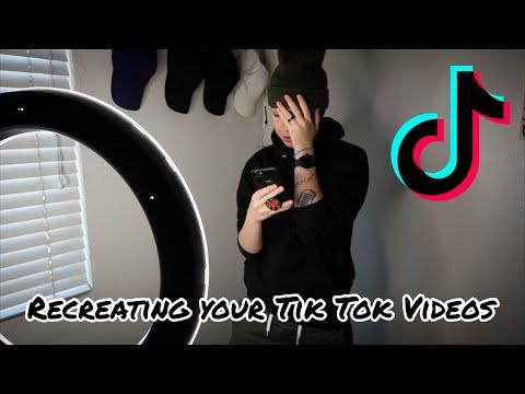 Recreating YOUR Tik Tok Videos!