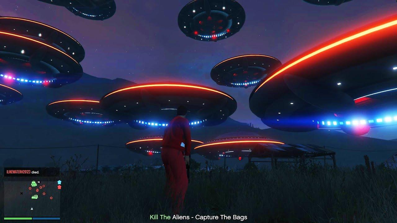 скачать мод alien invasion для гта 5 бесплатно