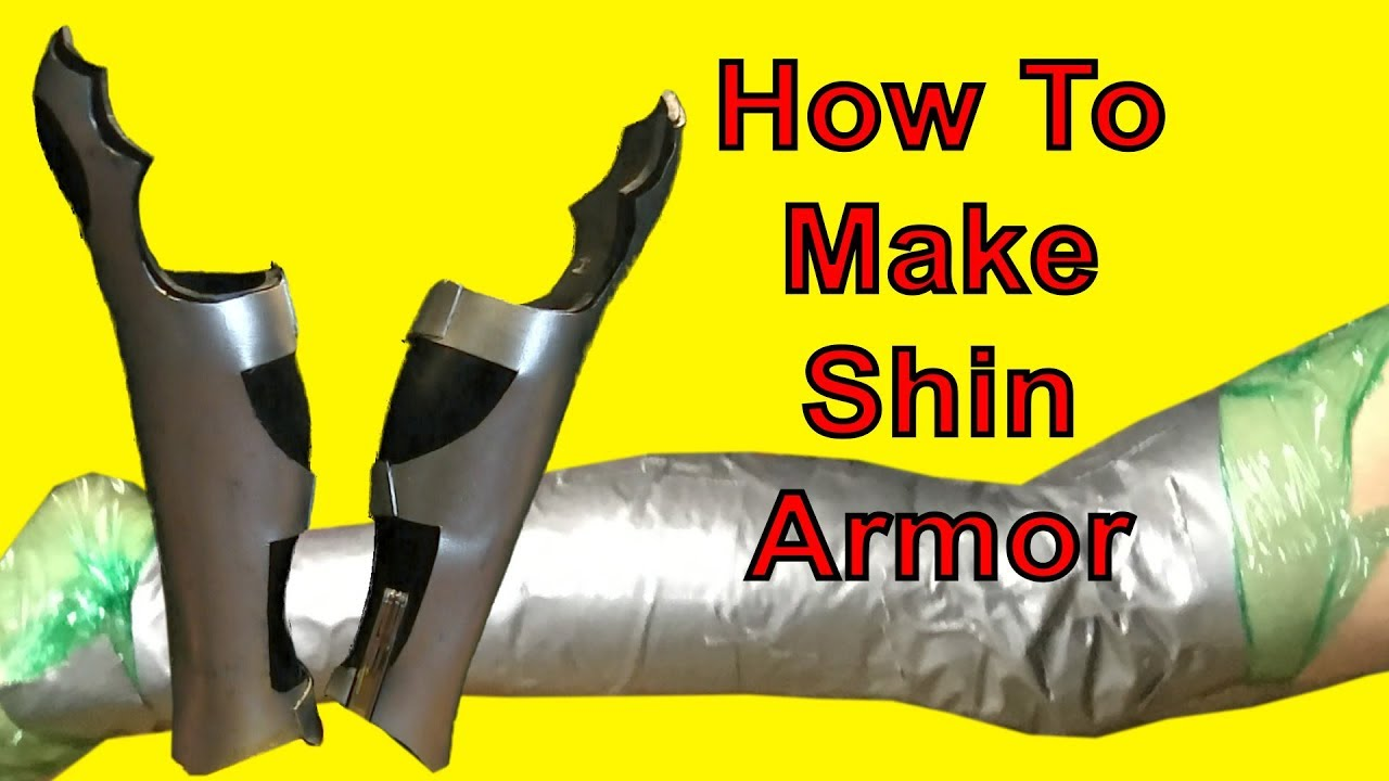 HOW TO MAKE: Shin Armor for Cosplay