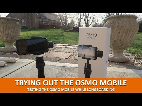 LONGBOARDING WITH THE OSMO MOBILE