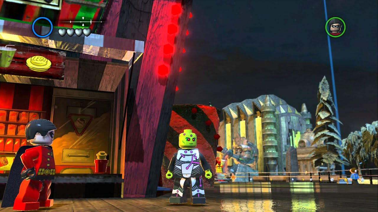 Lego Batman 2 Dc Super Heroes All Characters Unlocked Youtube