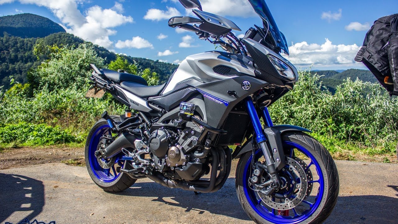 2016 yamaha mt 09 tracer first ride youtube. Black Bedroom Furniture Sets. Home Design Ideas