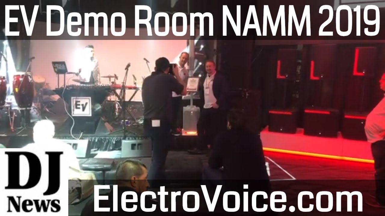 Electro Voice Demo Room and EV's Readers Choice Award | Disc