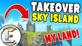 Taking Over Sky Island - Roblox Booga Booga (Tribe Survival Game EP7)