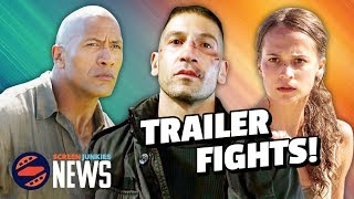 Trailer Fights: Tomb Raider vs Jumanji vs The Punisher! (Trailer Reactions)