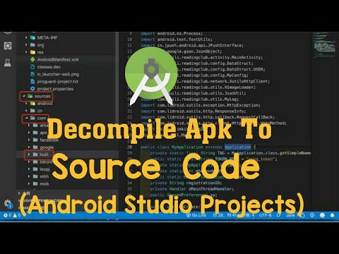 Decompile APK To Android Studio Source Code