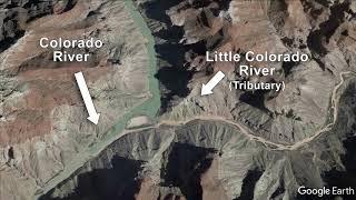 High flow release at Glen Canyon Dam