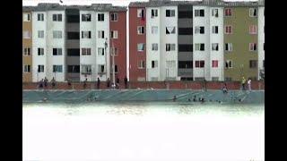 En una piscina pública se ha convertido el reservorio de agua en oriente de Cali