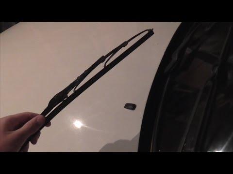 Как заменить щетки стеклоочистителя, каркасные или без каркасные (PitStopMD)