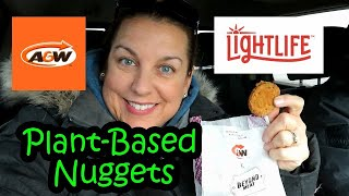 A&W LightLife Plant Based Nuggets are here!!!