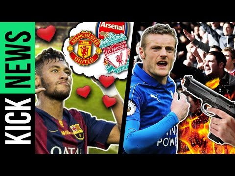 Neymar will in die Premier League! Morddrohungen gegen Vardy! | KickNews