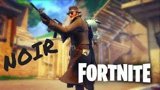 Fortnite Noir Skin 4k Gameplay!