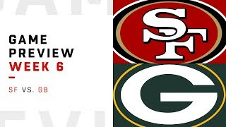 San Francisco 49ers vs. Green Bay Packers | Week 6 Game Preview | NFL Film Review