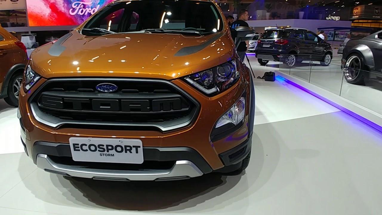 Lanzamiento El Ford Ecosport Storm En Argentina