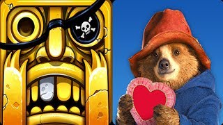 Temple Run 2 Lost Jungle VS Paddington Run Android iOS Gameplay