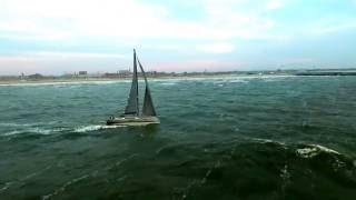 HappyCrew delivering X-Yachts Xp55 in Scheveningen